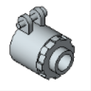 MSCKON50to125 90° Squeeze Connectors Malleable Iron for Flex