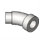 LTQ45 ICKON Patented Screw Connector 45 Insulated