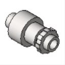 LTQ ICKON Patented Screw Connector Straight Insulated