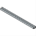 PS 500 1-58 x 1316 14 Gage Solid Beam