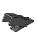 PS 9400 Adjustable Brace Fitting