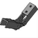 PS 9401 Dual Adjustable Brace Fitting