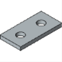 PS 620 2 HOLE CONNECTING PLATE