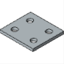 PS 621 4 HOLE CONNECTING PLATE