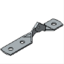 PS 9403 3-Hole Hinge Connector