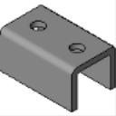 PS 631 2-Hole U Shape Fitting