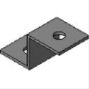 PS 647 2-Hole Z Shape Fitting