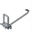 P2867A Beam Clamp for 4 - 18 Wide Beams